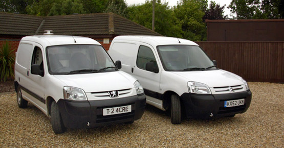 We offer a full delivery and collection service in our professionally equipped vans